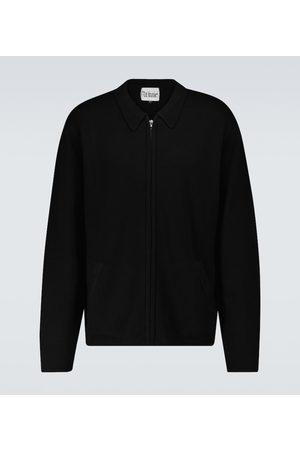 WINNIE N.Y.C Swetry i Pulowery - Wool zipped sweater