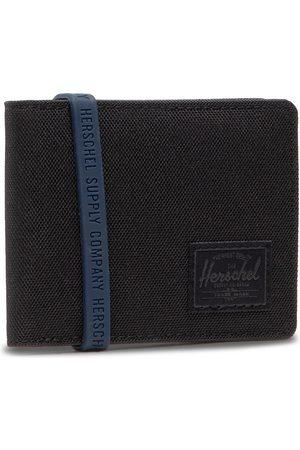 Herschel Mężczyzna Portmonetki i Portfele - Duży Portfel Męski - Roy Coin 10766-02090 Blk