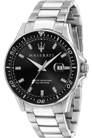 Maserati Mężczyzna Zegarki - Zegarek - Sfida R8853140002 Silver/Black