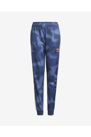 adidas Spodnie dresowe - All-Over Print Spodnie dresowe dziecięce
