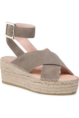 MANEBI Espadryle Wedges W Belt W 1.9 Wb
