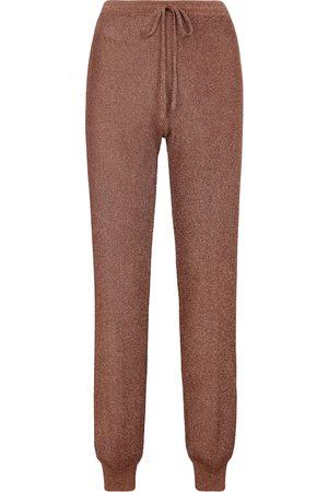 Missoni Metallic knit sweatpants