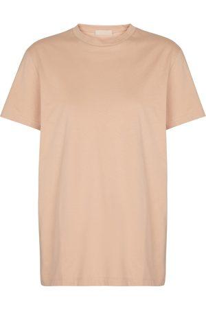WARDROBE.NYC Kobieta Z krótkim rękawem - Cotton jersey T-shirt