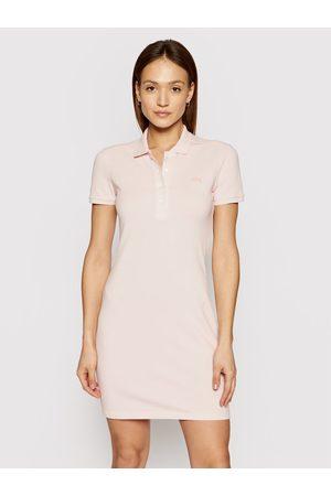 Lacoste Sukienka codzienna EF5473 Slim Fit