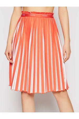 Calvin Klein Spódnica plisowana K20K202932 Regular Fit