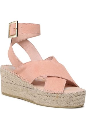 MANEBI Espadryle Wedges W Belt W 1.4 Wb