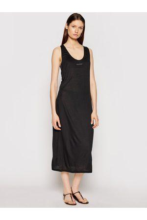 Calvin Klein Sukienka plażowa KW0KW01355 Regular Fit
