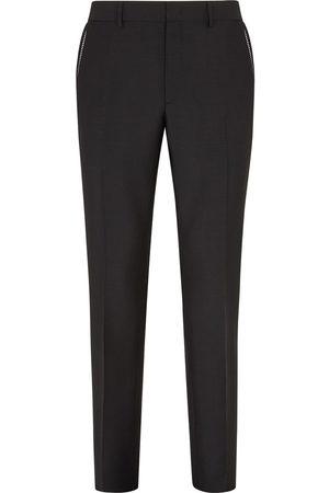 Fendi Mężczyzna Spodnie eleganckie - Black