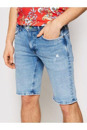 Pepe Jeans Szorty jeansowe Stanley PM800792 Slim Fit