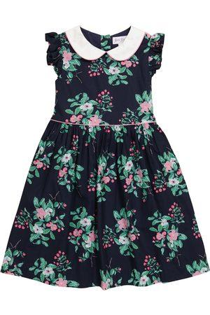 Rachel Riley Dziewczynka Sukienki z nadrukiem - Floral cotton dress