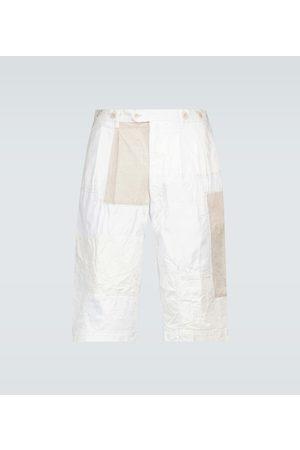 JUNYA WATANABE Szorty - Straight-fit patchwork shorts
