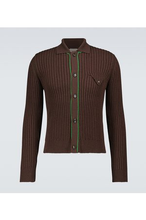 Bottega Veneta Military ribbed pullover cardigan