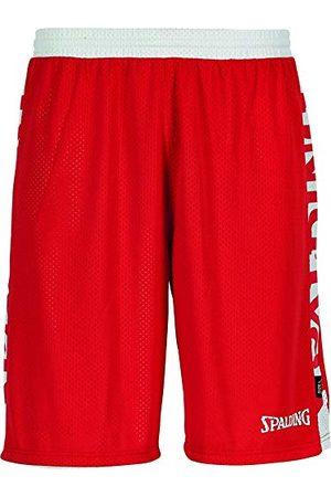 Spalding Mens 300502503_XXXXL szorty, czerwone, białe