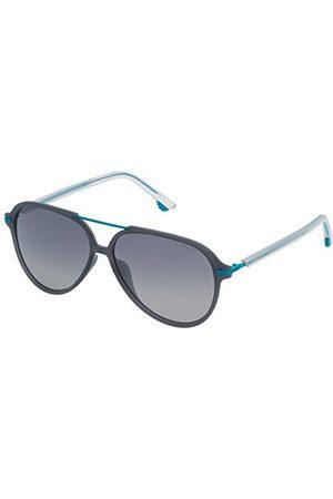 Police Unisex SPL58258M20P okulary przeciwsłoneczne dla dorosłych, niebieskie (Azul), 58