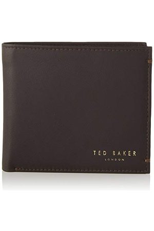 Ted Baker Męskie akcesoria podróżne Harvys – portfel dwustronny, - XChocolate - Rozmiar Uniwersalny