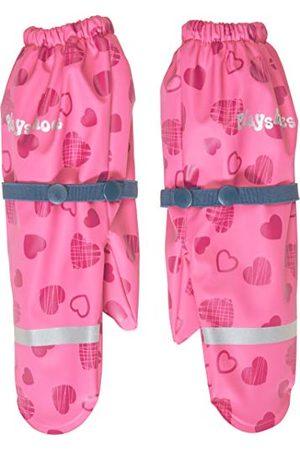 Playshoes Dziewczęce rękawiczki z polarową podszewką w kształcie serca