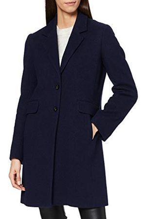 HUGO BOSS Damski płaszcz z mieszanki wełny