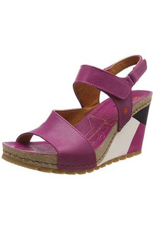 Art Damskie sandały 1330 Memphis Magenta/Güell Open Toe, Pink Magenta Magenta - 37 EU