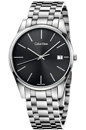Calvin Klein Męski analogowy kwarcowy Smart Watch zegarek na rękę z bransoletką ze stali szlachetnej K4N21141