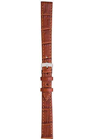 Morellato Bransoletka skórzana do zegarka unisex KAJMAN złotobrązowy 18 mm A01Y2524656041CR12
