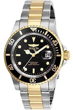 Invicta Uniseks dorosły analogowy klasyczny zegarek kwarcowy z paskiem ze stali nierdzewnej 26973