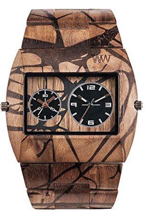 WeWood WW40005 męski analogowy zegarek kwarcowy Smart Watch z drewnianą bransoletką