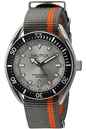 Nautica Męski zegarek kwarcowy z żywicy silikonowej pasek