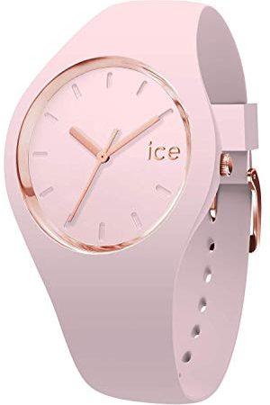 Ice-Watch Ice Glam Pastel Rosa Lady - zegarek damski z silikonowym paskiem Taśma Small /
