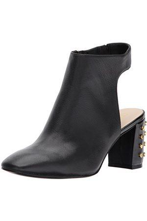 Nine West Damskie buty Xtravert zamszowe modowe, czarne, 8 UK (11 US)