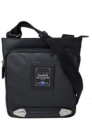 PIERO GUIDI MessengerMęska torba na ramię czarna (Nero) 25 x 27 x 5 cm (szer. x wys. x dł.)