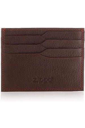 Zippo Męskie etui na karty kredytowe brązowe portfel, - (mokka) - 0.8x10.199999999999999x7.8 cm (B x H x T)