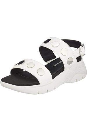 Tamaris Damskie sandały z rzemykiem 1-1-28217-24, - White 100-37 eu