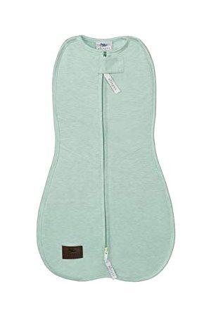 Sleepee Unisex Baby First Step pokrowiec Melange miętowo- śpiwór, (miętowy 6000), noworodek (rozmiar producenta: 3-6,5 kg)