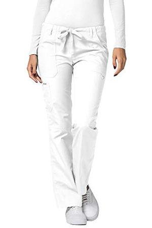 Adar Uniforms Damskie spodnie medyczne 510whtl, białe, L UK