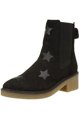 Tommy Hilfiger Damskie buty M1285ia 3b1 Desert Boots, - Black - 39 EU