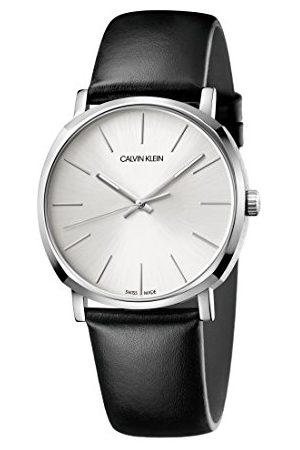 Calvin Klein Męski analogowy zegarek kwarcowy ze skórzanym paskiem K8Q311C6