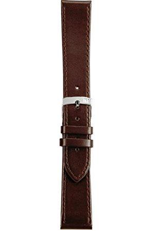 Morellato Bransoletka skórzana do zegarka unisex SPRINT brązowa 10 mm A01X2619875032CR10