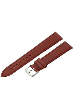 Morellato Bransoletka skórzana do zegarka unisex AGILA złotobrązowy 18 mm A01X3425695041CR18