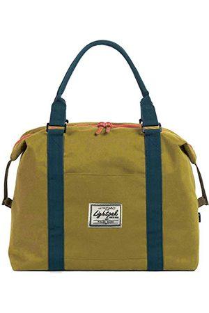 LIGHTPAK Torebka damska Sweetbox, damska torebka z poliestru, torba z uchwytem z oddzielną kieszenią na telefon komórkowy, torba sportowa, 36 cm, żółta