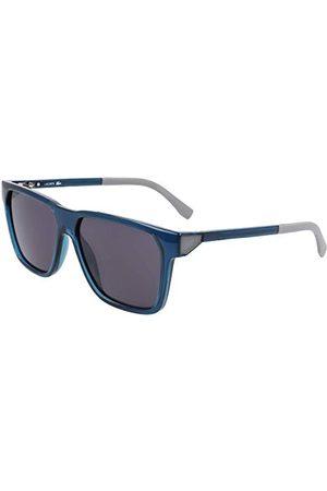 LACOSTE EYEWEAR Męskie okulary przeciwsłoneczne L934S-424, niebieskie, 57/14/135