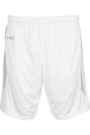 Spalding Mens 300541201_XL szorty, białe, srebrne