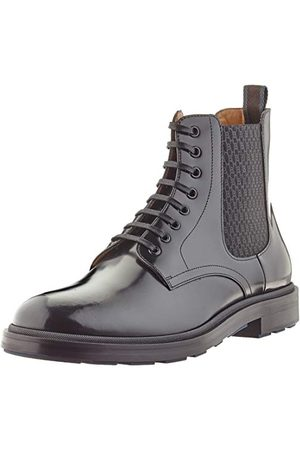 HUGO BOSS Męskie buty Royal_pół_boel do połowy butów, - (Black1) - 41.5 EU