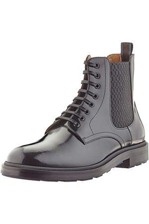 HUGO BOSS Męskie buty Royal_pół_boel do połowy butów, - (Black1) - 42 EU