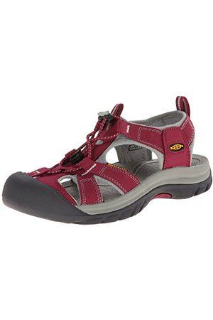 Keen Venice H2 W sandały damskie na platformie, - Pink Beet Red Neutral Gray - 36 EU