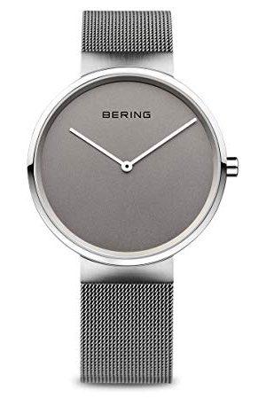 Bering Unisex analogowy zegarek kwarcowy z bransoletką ze stali szlachetnej 14539-077 bransoletka 31 mm