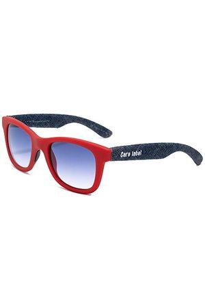 Italia Independent Unisex 0090CL-053-000 okulary przeciwsłoneczne, czerwone (Rojo), 50.0