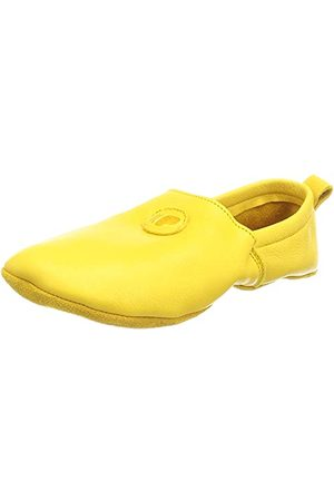POLOLO Kapcie - Unisex Baby Uni żółte kapcie domowe 20 EU