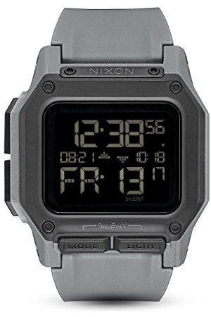 Nixon Zegarek cyfrowy unisex z silikonowym paskiem A1180-632-00