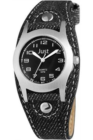 Just Watches Unisex zegarek na rękę analogowy kwarcowy tekstylia 48-S0010-BK