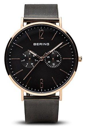 Bering Męski analogowy zegarek kwarcowy z paskiem ze stali nierdzewnej 14240-163